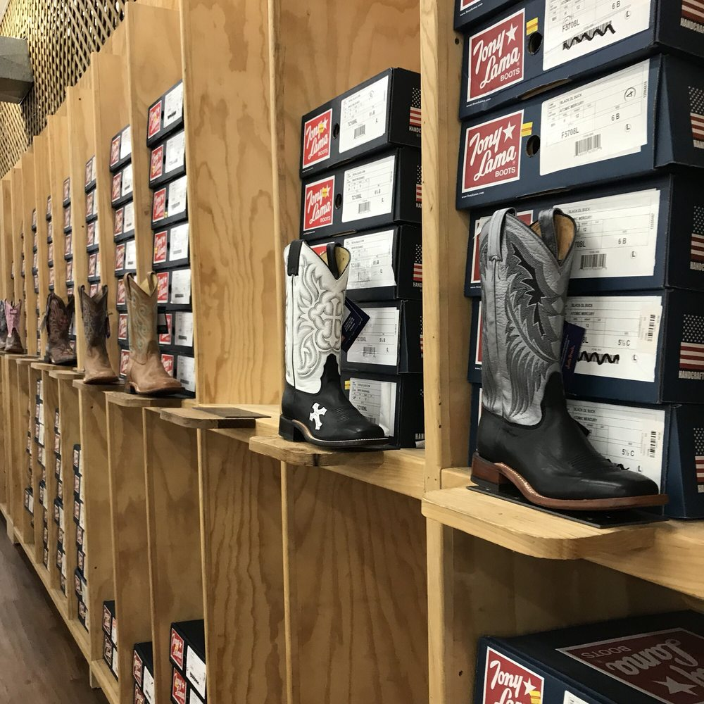 Justin Discount Boots & Cowboy Outfitters: 101 North Hwy 156, Justin, TX