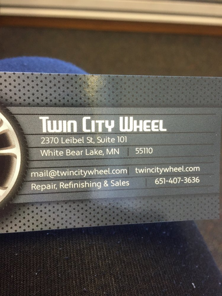 Twin City Wheel Repair: 2370 Leibel St, White Bear Township, MN