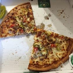 cheeseburger pizza papa johns