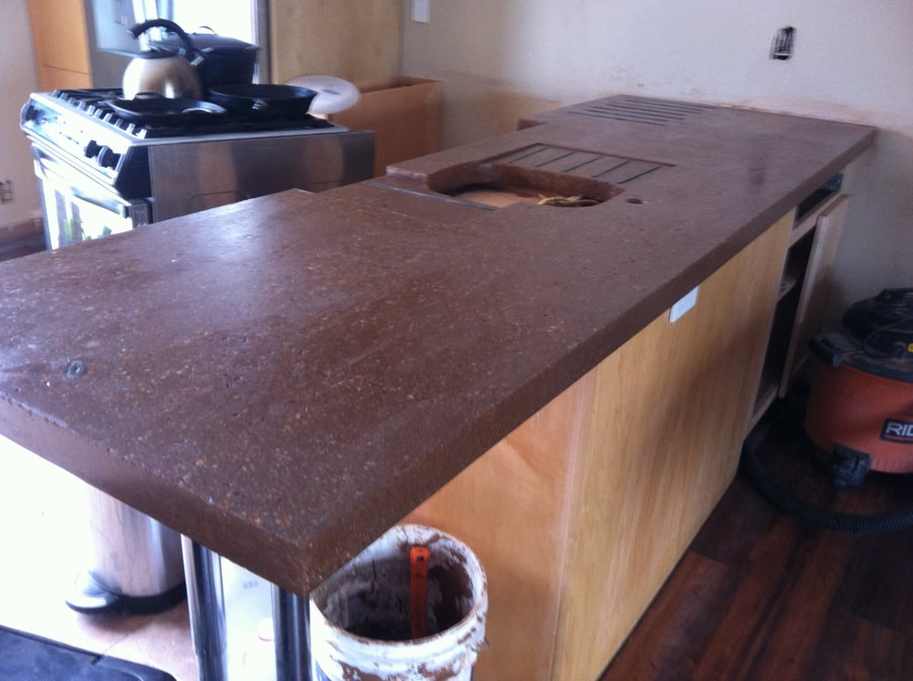 Photo Of Makeover Colorado   Denver, CO, United States. Custom Concrete  Countertop With