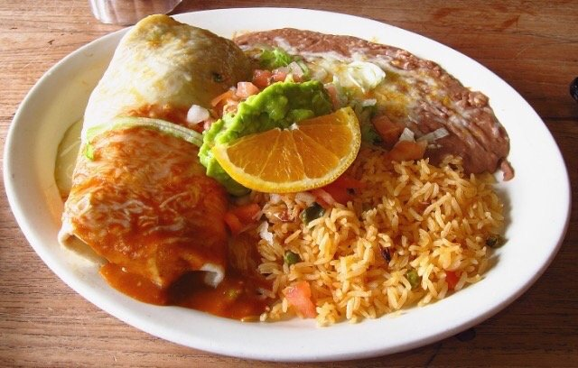Bean cheese wet burrito is absolutely delicious yelp for Alejandra s mexican cuisine