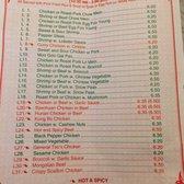 Jin Jin Chinese Restaurant Menu Huntersville Nc