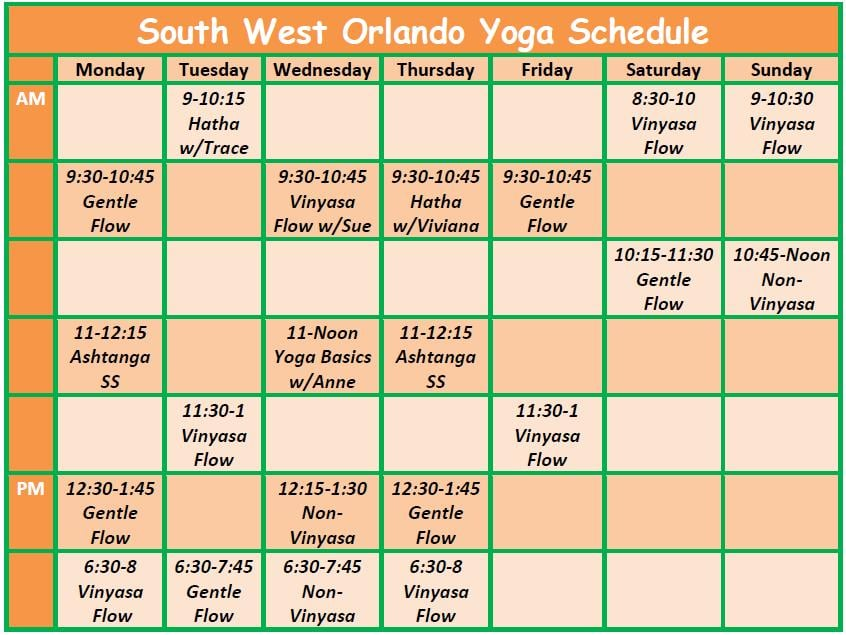 South West Orlando Yoga: 7232 W Sand Lake Rd, Orlando, FL
