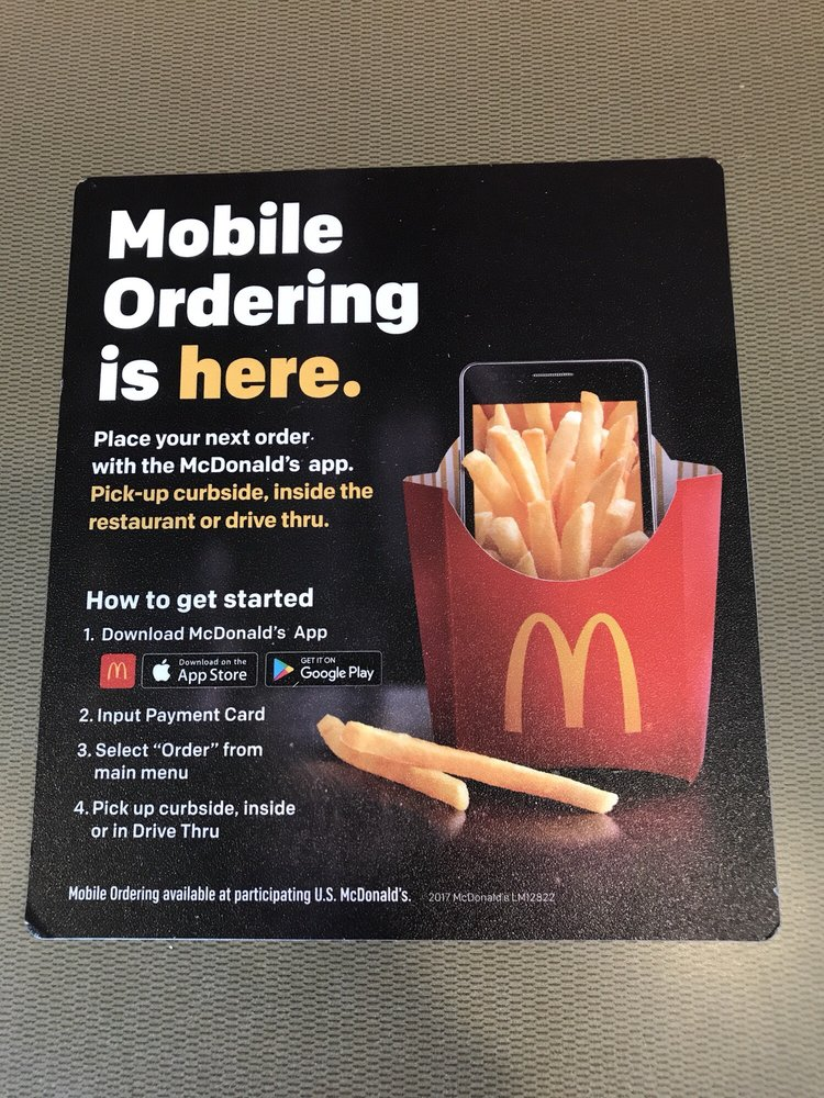 McDonald's: 1125 W State Rd, Belding, MI