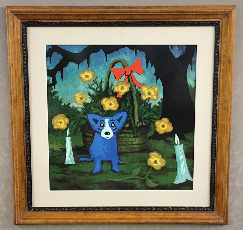 Blue dog!!! - Yelp