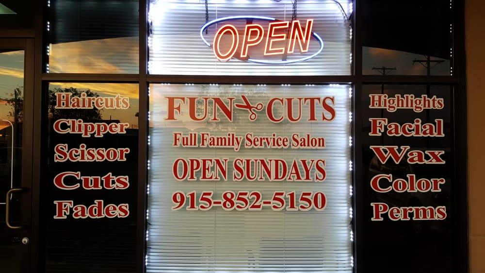 Fun Cuts Hair Salon: 14470 Horizon Blvd, Horizon City, TX