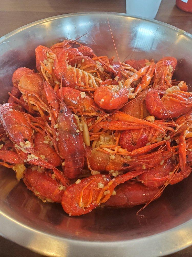 Geaux Cajun Seafood Kitchen: 13018 Woodforest Blvd, Houston, TX
