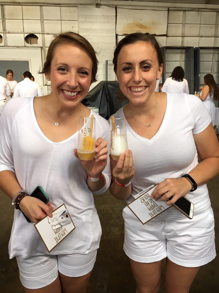 Yelp's White Night with Downtown Indy 2016