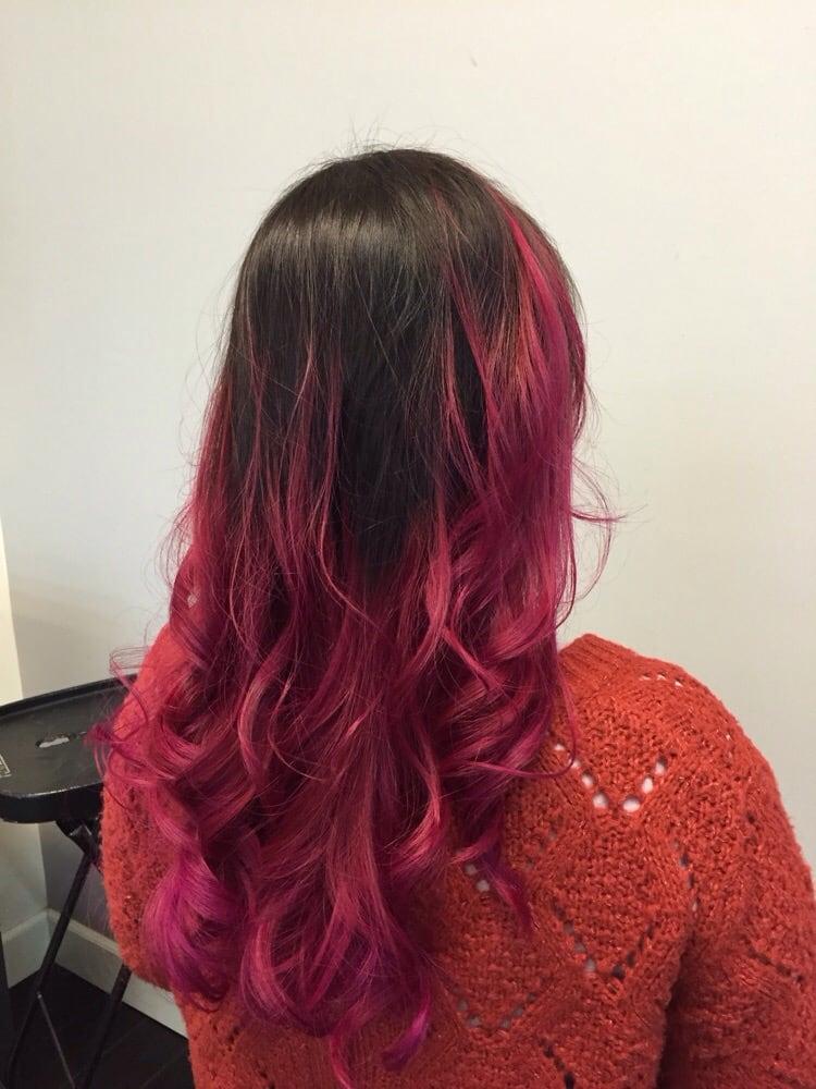 Pink hair yelp for 1500 salon alameda