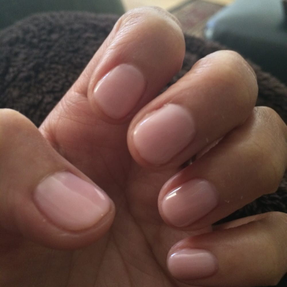 OPI Bubble Bath no chip manicure. - Yelp