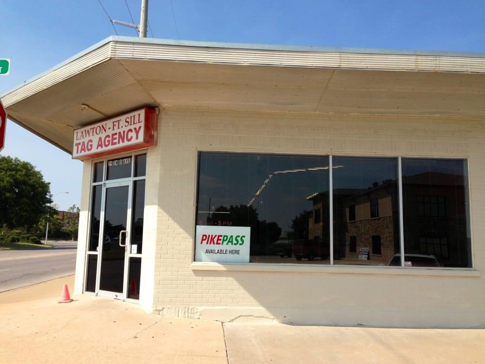 Lawton Fort Sill Tag Agency: 29 SW D Ave, Lawton, OK