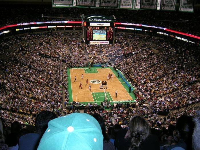 Td banknorth garden when it was the fleetcenter yelp for Restaurants near td garden boston ma