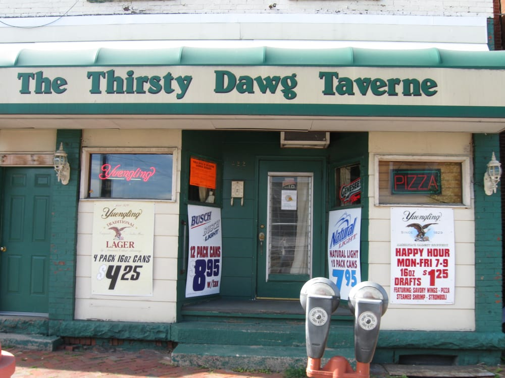 The Thirsty Dawg Taverne: 422 Magee Ave, Patton, PA