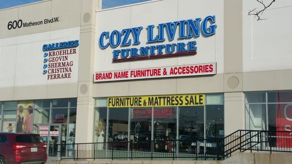 Cozy Living Furniture Furniture Stores 600 Matheson
