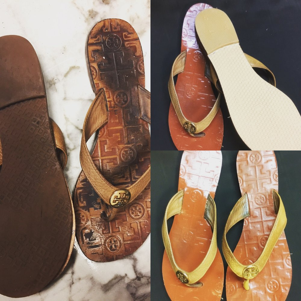 7a0490a7ff7b4 Restored these Tory Burch sandals back to new! - Yelp