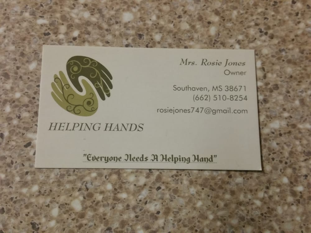 Helping Hands: 7220 Arcastle Lp E, Southaven, MS
