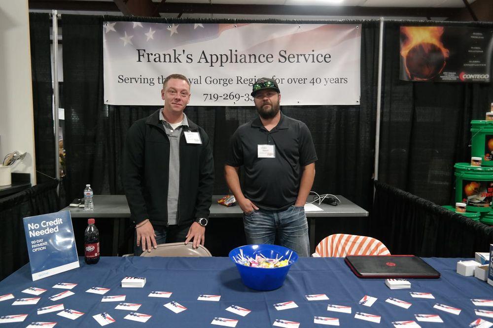 Frank's Appliance Service: 1700 Rainbow Dr, Canon city, CO