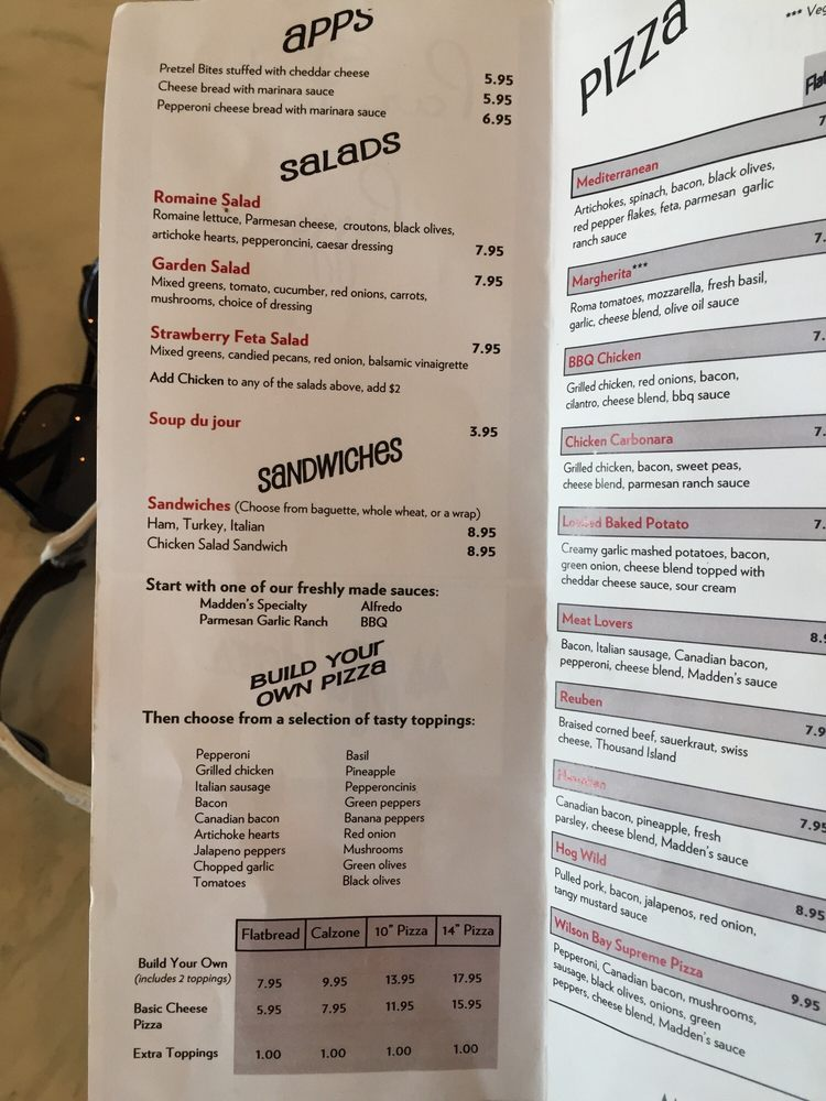 Parfecto Pizza & Sub Shop: 11266 Pine Beach Peninsula Rd, Brainerd, MN
