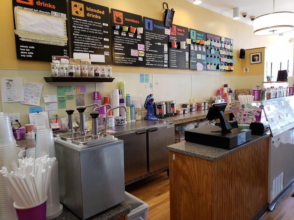 Rancatore's Ice Cream: 36 Leonard St, Belmont, MA