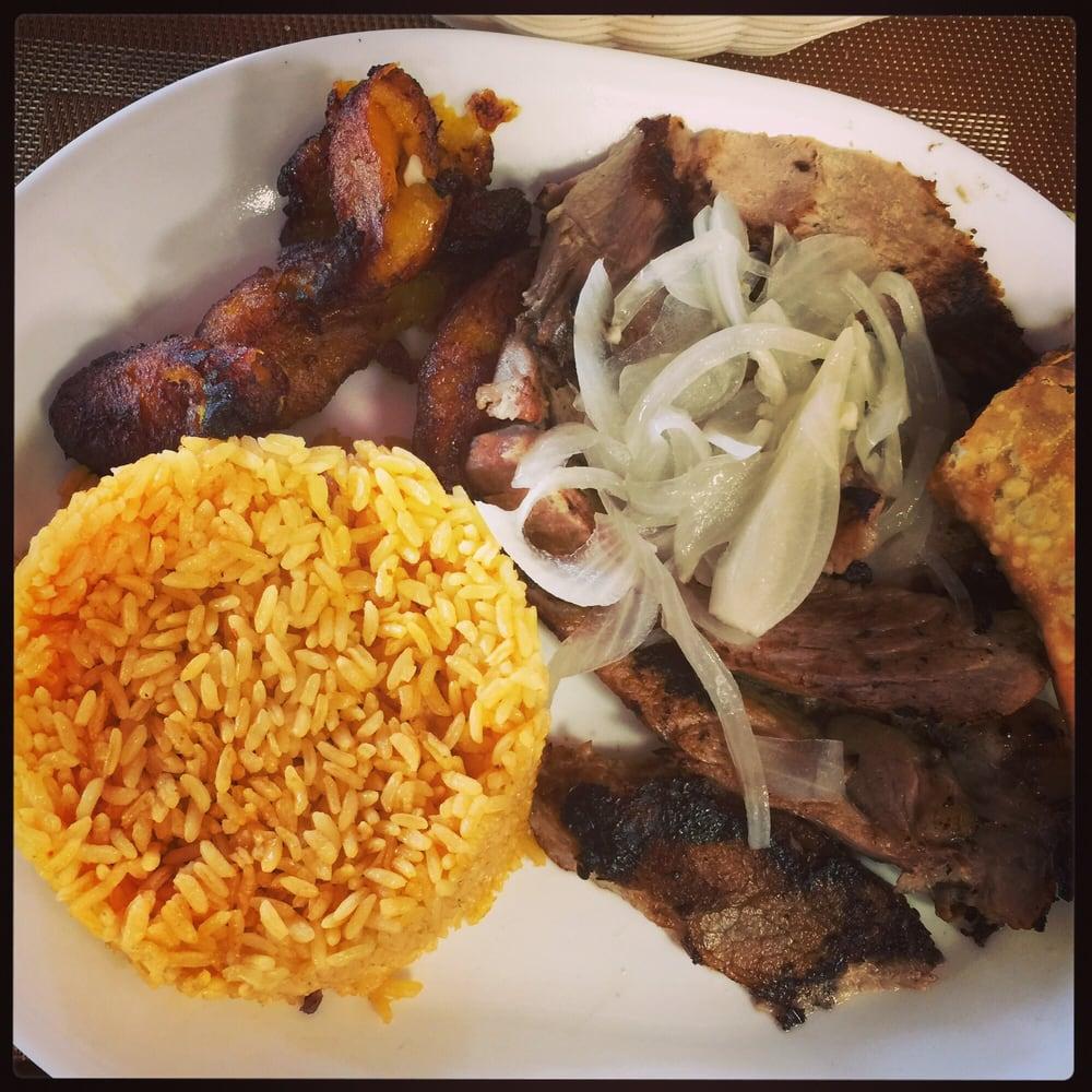 Lech n asado con arroz amarillo yelp - Cuban cuisine in miami ...