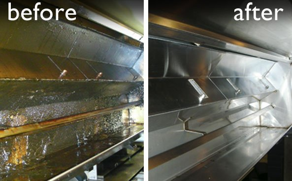 Dirty Exhaust Hood ~ All in hood cleaning service appliances repair