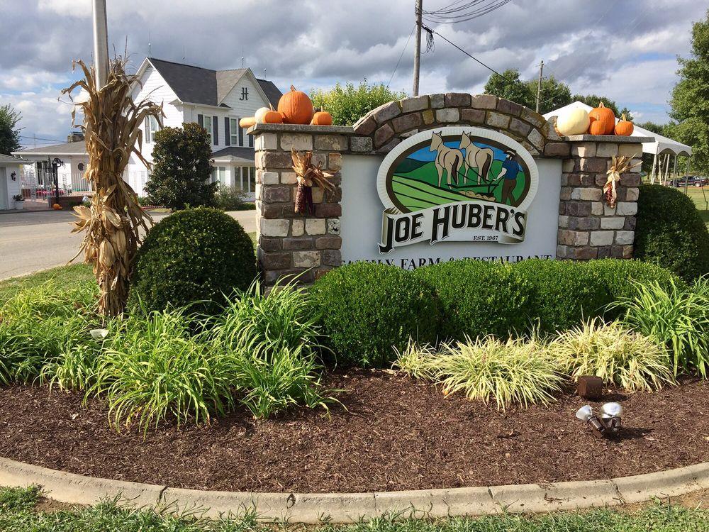 Huber Joe Family Farm Orchard Restaurant: 2421 Engle Rd, Borden, IN