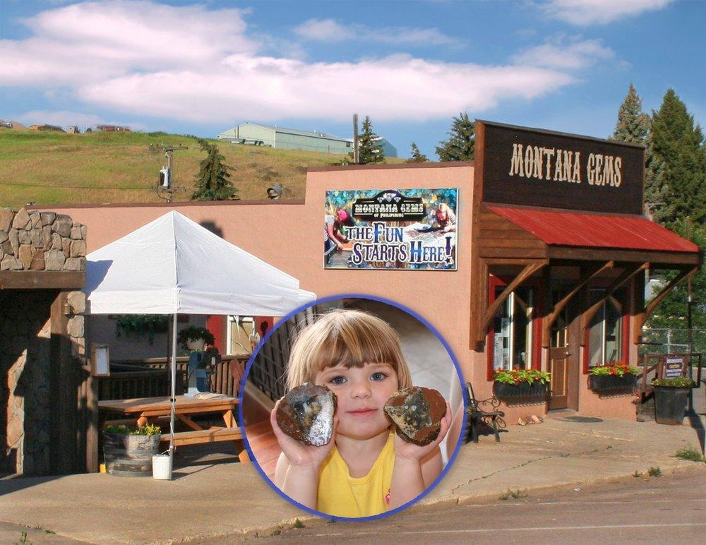 Montana Gems of Philipsburg: 204 W Broadway St, Philipsburg, MT