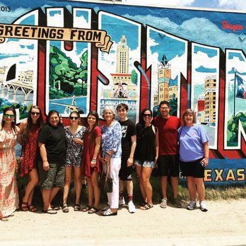 Greetings From Austin Postcard Mural - 108 Photos & 69
