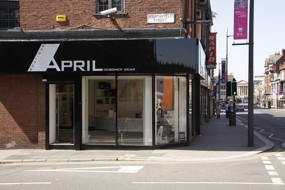 April Boutique Designer Wear