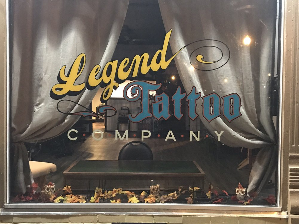 Legend Tattoo Company: 101 East Beaver St, Corydon, IN