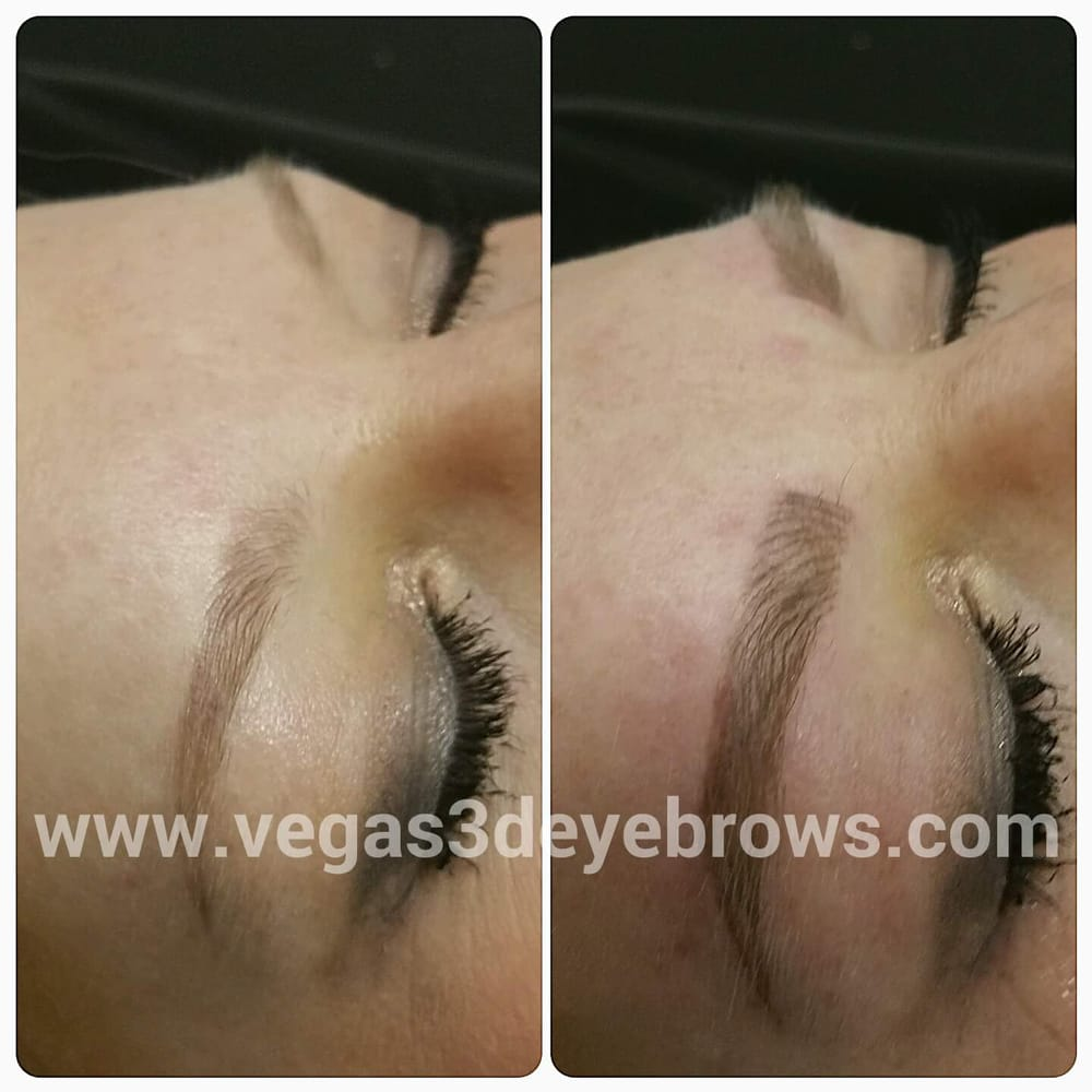 3d Permanent Eyebrows By Theresa With The Nouveau Contour