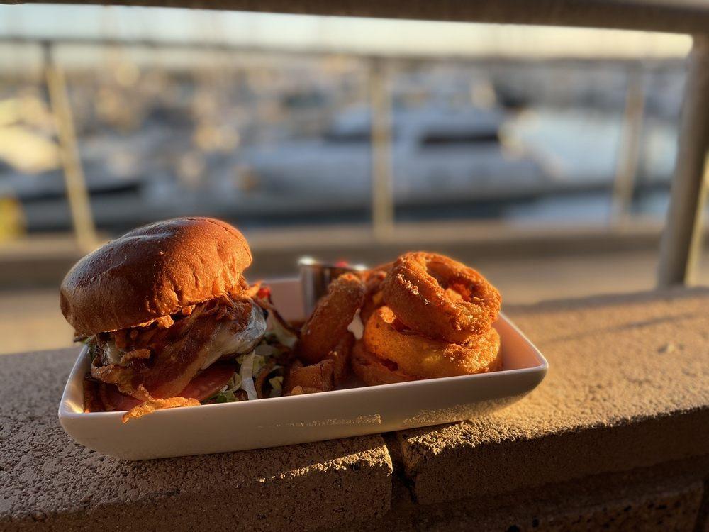 The Waterfront Grill: 3201 Marina Way, National City, CA