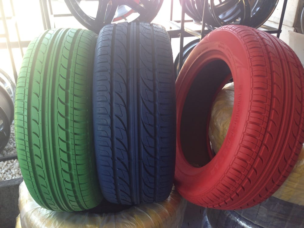 Yes!! COLORED TIRES!!? Available Now - Yelp