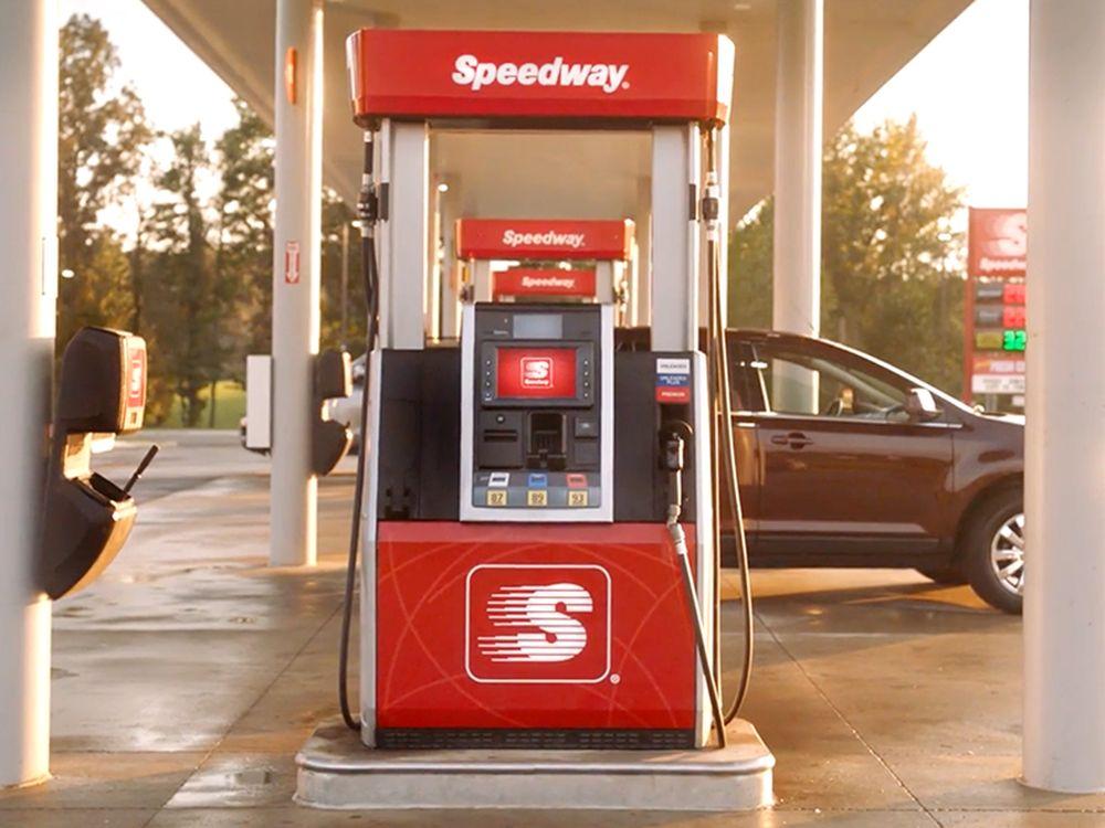 Speedway: 4895 Dinius Rd, Williamsville, IL