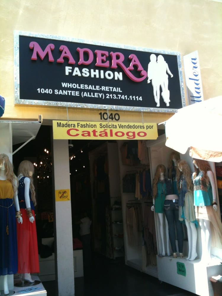 2d34a20b5a9 Madera Fashion - Fashion - 1040 Santee St, Downtown, Los Angeles, CA -  Phone Number - Yelp