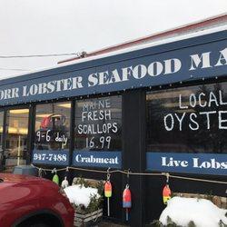 Photo Of Dorr Lobster Seafood Market Bangor Me United States