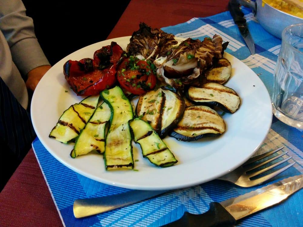 Grigliata di verdure yelp for Quattro ristoranti torino