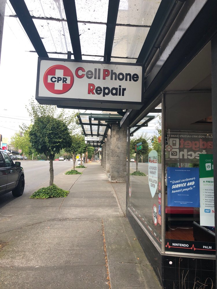 CPR Cell Phone Repair Seattle University: 3511 NE 45th St, Seattle, WA