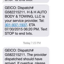 geico emergency road service phone number