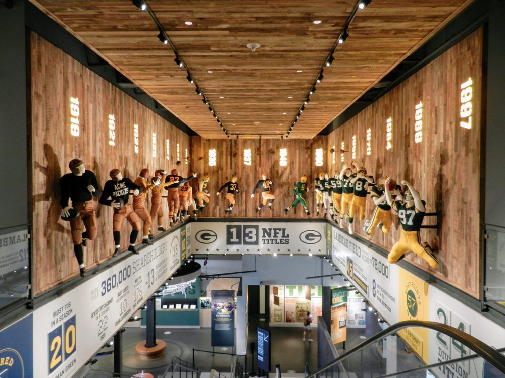 Social Spots from Green Bay Packers Hall of Fame