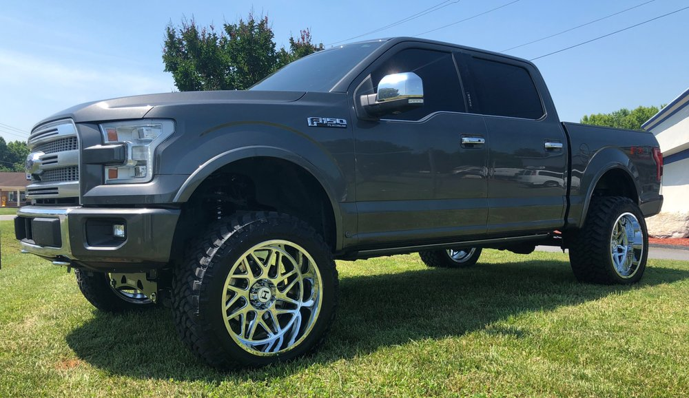 Ford F150 Platinum Lifted >> 2018 Ford F 150 Platinum 980 6 Fabtech Lift Kit 22 Hostile