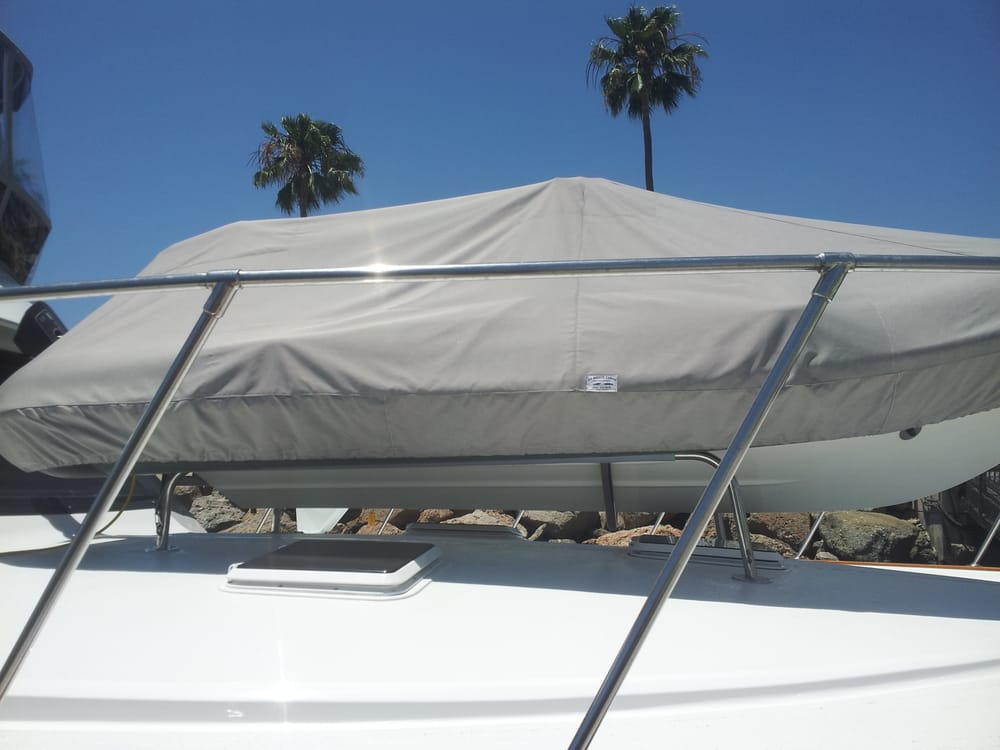 Seabreeze Canvas Upholstery Boat Repair 4455 Charlemagne Ave Long Beach Ca Phone