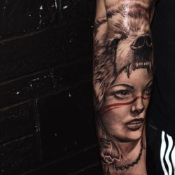 54188f908 Photo of Black Horse Tattoos - Brooklyn, NY, United States. Piece done by