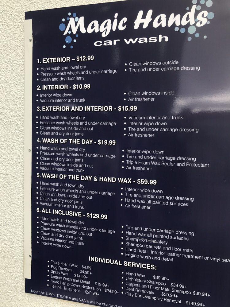 Car Wash Pines Blvd