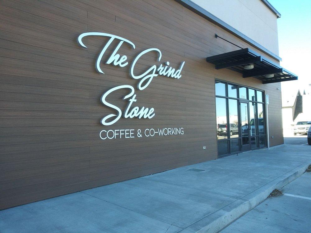 The Grindstone Coffee & Co-Working: 4370 B Hillside Rd, Amarillo, TX