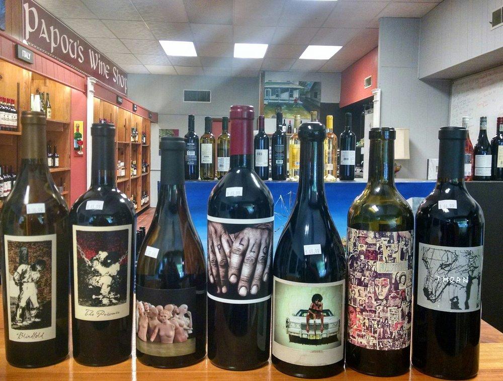 Social Spots from Papou's Wine Shop