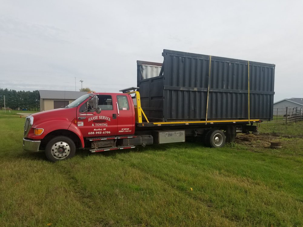 Haase Service & Towing: 307 E USHwy 18, Montfort, WI