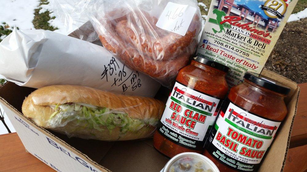 Rubino's Italian Imports: 16635 Oak Park Ave, Tinley Park, IL