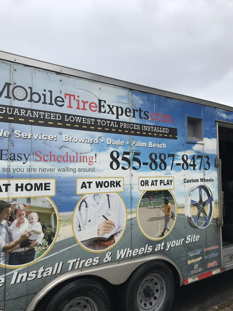 Mobile Tire Experts: Coral Springs, FL