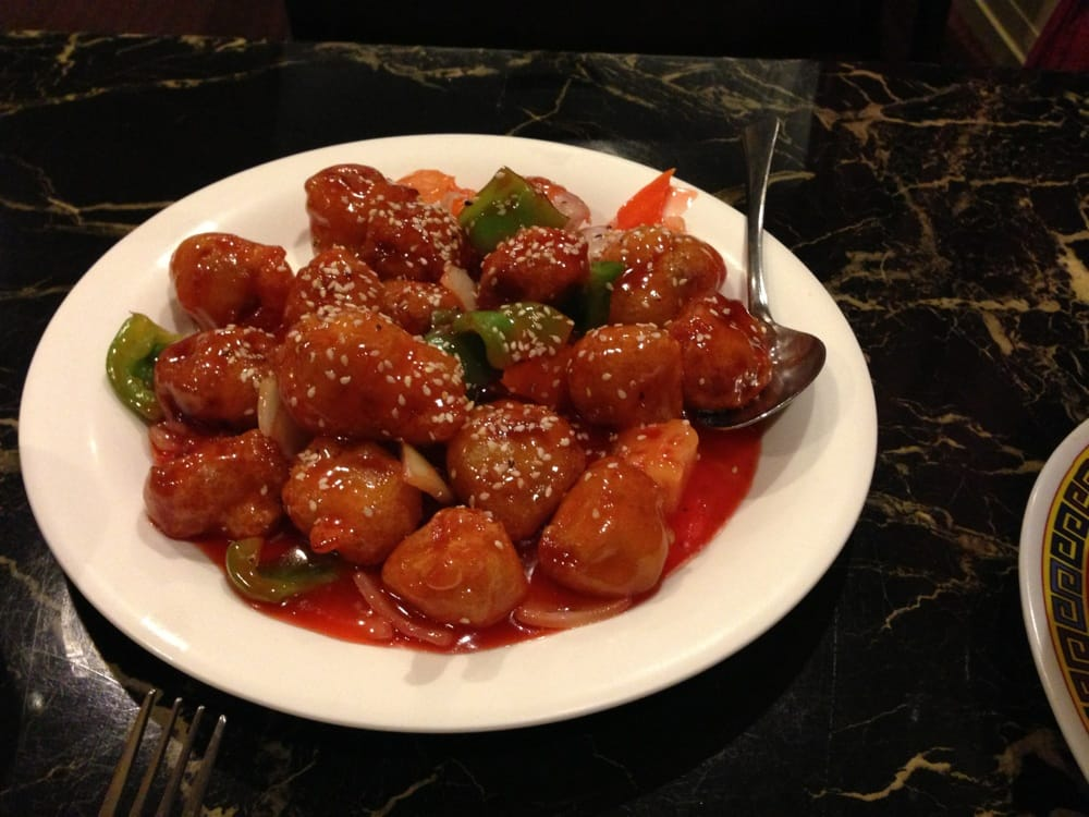 Sweet and sour pork yelp for Asian fusion cuisine